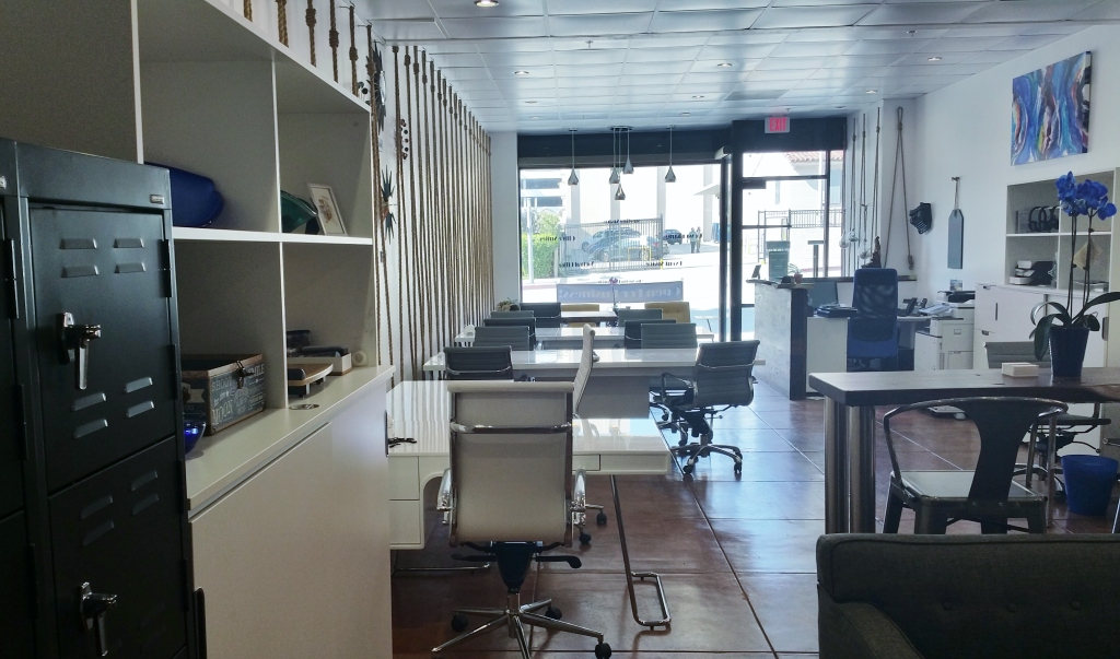 Coworking space at My Other Office in Burbank