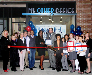 My Other Office - Official Ribbon Cutting Ceremony sponsored by The Burbank Chamber of Commerce - January 2015