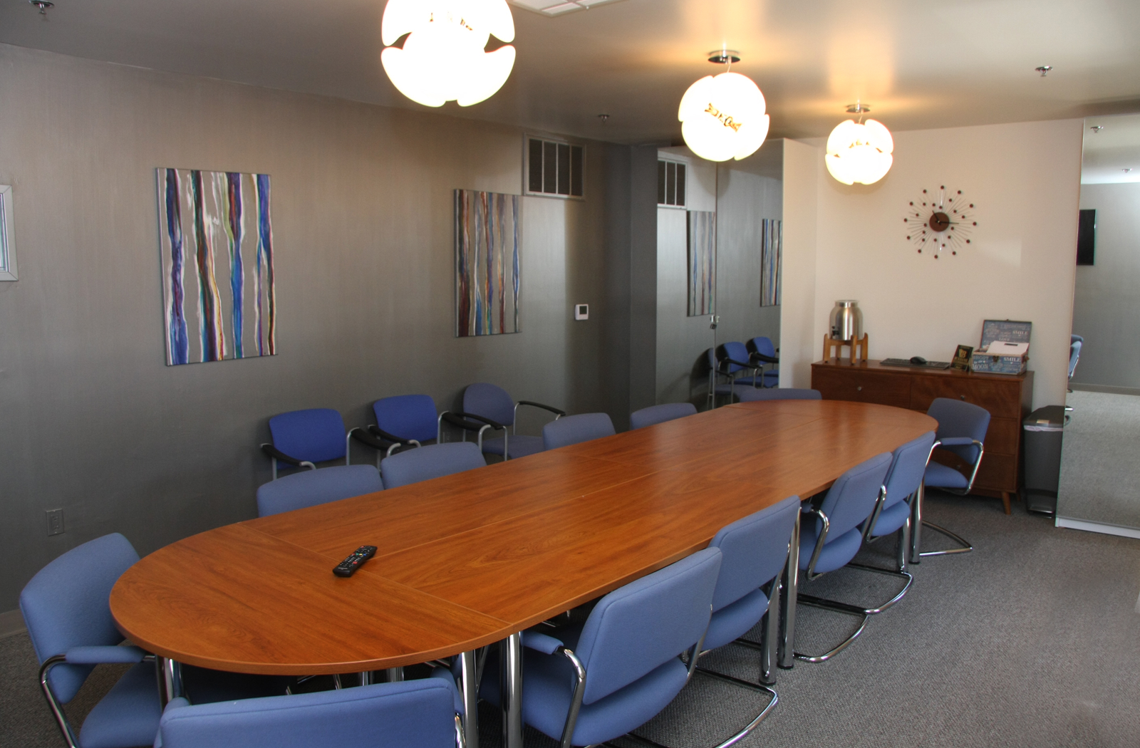 Flexible workspace and conference room at 124 E Olive Ave., Burbank, CA 91502